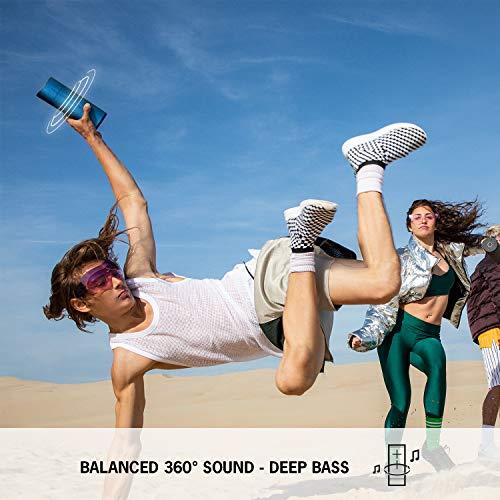 Ultimate Ears BOOM 3 Enceinte Bluetooth sans fil (son audacieux + basses intenses, Bluetooth, bouton magique, étanche, longévité de batterie de 15 heures, portée de 45 m) - Rouge