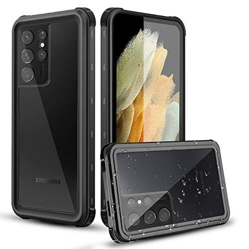 AICase Custodia Impermeabile Samsung Galaxy S21 Ultra,Outdoor IP68 Certificato Waterproof Cover Slim Caso Full Protezione Custodia Protettiva per Samsung Galaxy S21 Ultra 6.8 inch