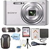 Sony DSC-W830 Cyber-Shot 20.1MP Digital Camera...