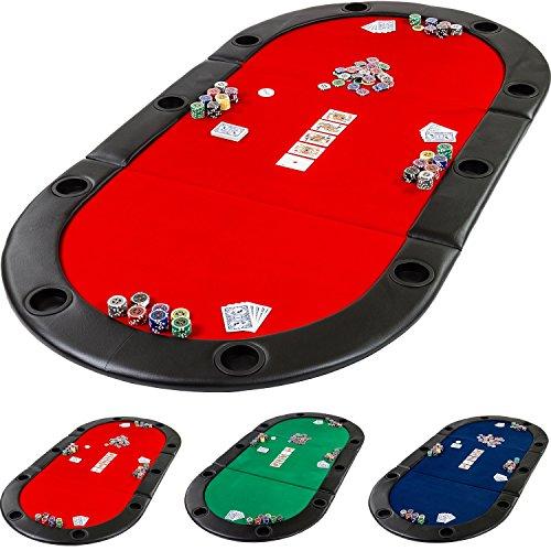 Maxstore Pad Pliable Deluxe de Poker avec Sac, L 208 x...