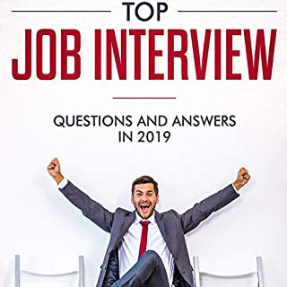 Top Job Interview Questions and Answers 2019 audiobook cover art