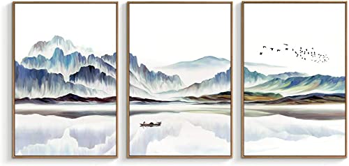 "NWT Framed Canvas Wall Art for Living Room, Bedroom Canvas Prints for Home Decoration Ready to Hanging - 24""x36""x3 Pa..."