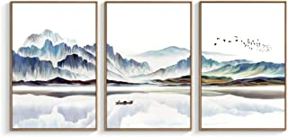 """NWT - Framed Canvas Wall Art for Living Room, Bedroom Canvas Prints for Home Decoration Ready to Hanging - 24""""x36""""x3 Panels"""