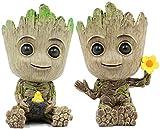 Leegicst Groot Treeman Pflanzer Blumentopf - Guardians Galaxy für Pflanzen Blumentopf -...