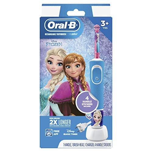 Oral-B Kids Electric Toothbrush Featuring Disney's Frozen, for Kids 3+
