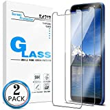 KATIN Galaxy J8 2018 Screen Protector - [2-Pack] Tempered Glass...