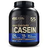 Optimum Nutrition 100% Gold Standard Casein, Protéine de Caséine en Poudre pour Musculation et Prise de Masse, Saveur Chocolat Suprême, 55 Portions, 1,82 kg