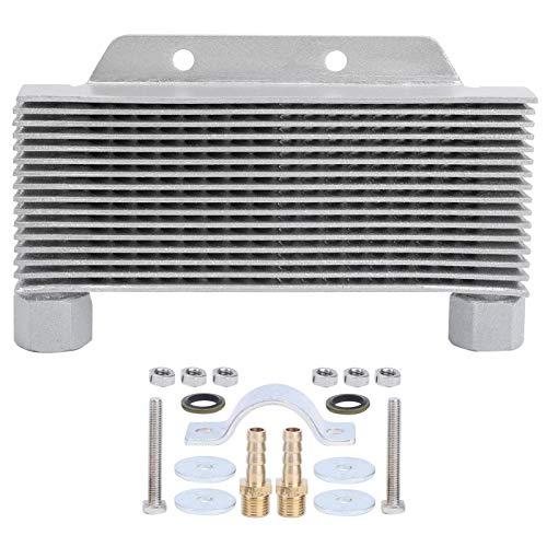 Qqmora Enfriamiento de Aceite del Motor Conveniente radiador de Aceite para Mejorar la Apariencia para una conducción Relajada
