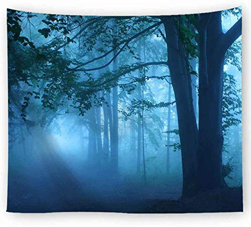 ZYLSZBD Tapestry The Tapestry Wall Hanging Tapestries Home DecorDecorative cloth forest print-Picture 10_150X150cm
