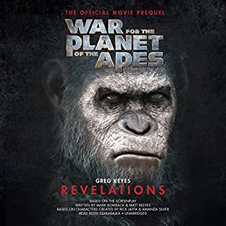 War for the Planet of the Apes: Revelations audiobook cover art