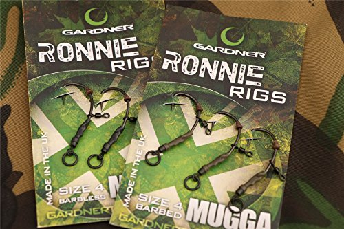 Gardner Ronnie Rigs Size6 Barbed