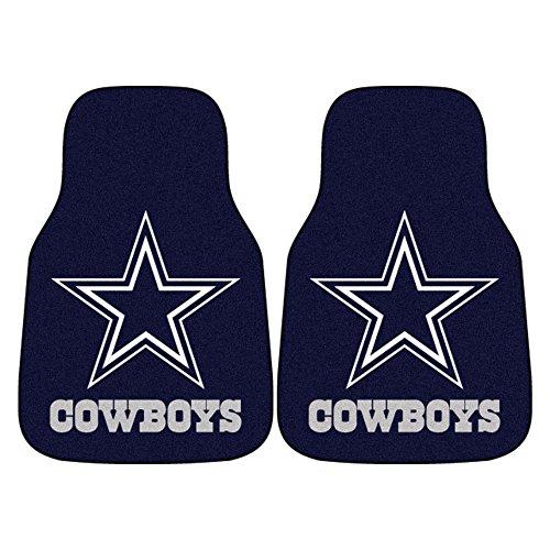 FANMATS NFL Dallas Cowboys Nylon Face Carpet Car Mat