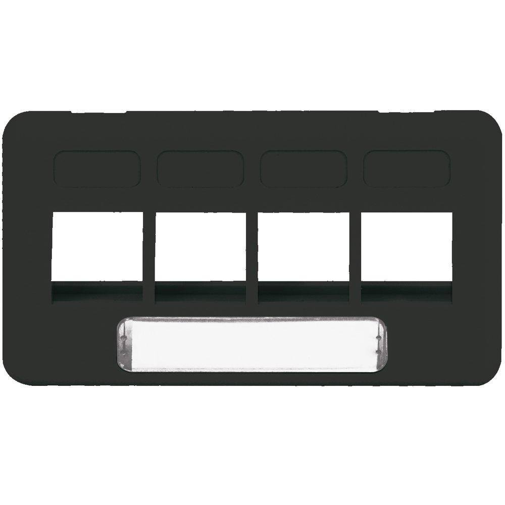 脸板 - 家具 - 大厦- 4 口- 黑色