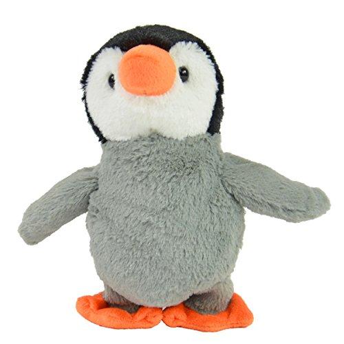 Kögler 75685 - Laber Pinguin Fridolin, Labertier mit Aufnahme- und Wiedergabefunktion, plappert alles witzig nach und bewegt sich, ca. 22,5 cm groß, ideal als Geschenk für Jungen und Mädchen