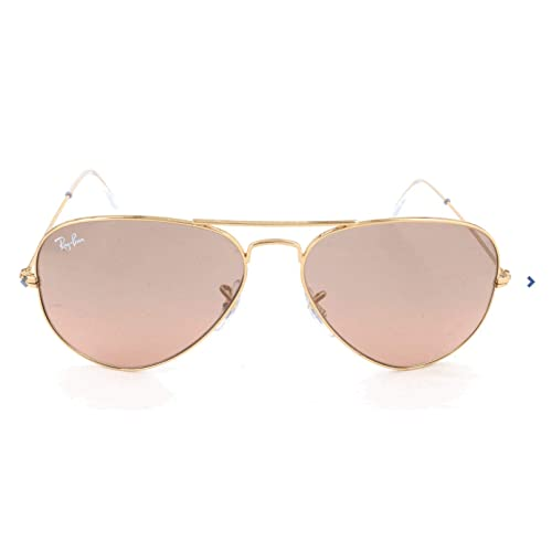 Ray-Ban AVIATOR LARGE METAL (RB 3025 001/33 55): Amazon.es ...