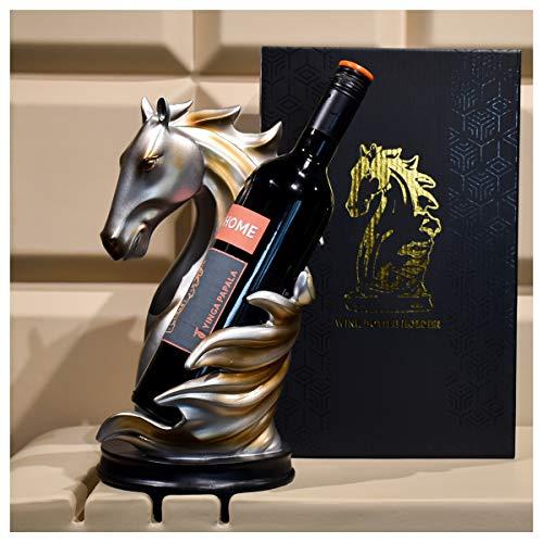 Porta vino in legno da banco, supporto pieghevole per bottiglie di vino da tavolo, supporto per bottiglie di vino da esterno, per armadi da cucina a casa