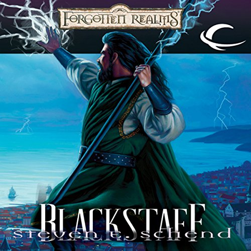 Blackstaff audiobook cover art