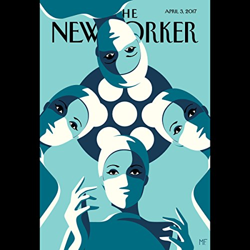 Couverture de The New Yorker, April 3rd 2017 (Jeffrey Toobin, Siddhartha Mukherjee, Rachel Aviv)