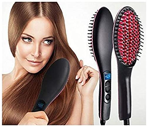DEEJET Straight Artifact Ceramic Electronic Hair Straightening Brush Machine For WoMen