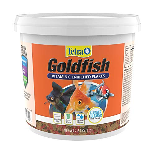 TetraFin Balanced Diet Goldfish Flake Food