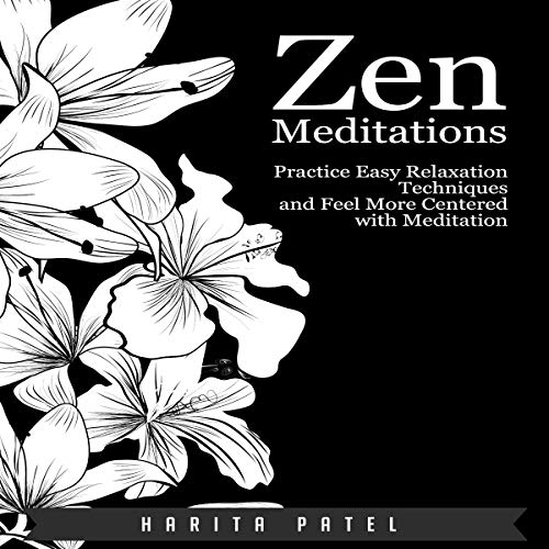 Zen Meditations audiobook cover art