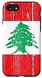 iPhone SE (2020) / 7 / 8 Lebanon Flag vintage Lebanese gift Case