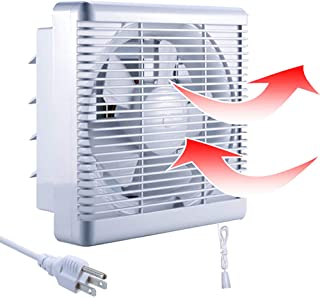 SAILFLO 10 Inch Exhaust Shutter Fan 2-Way Linkage Blower 470 CFM Strong Reversible..