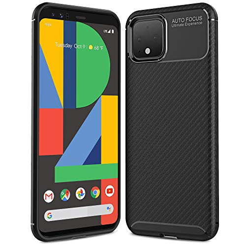 AINOYA Funda Google Pixel 4 de Tup Suave Carcasa Antigolpes & Anti-Rasguño & Antideslizante para Protección del Google Pixel 4