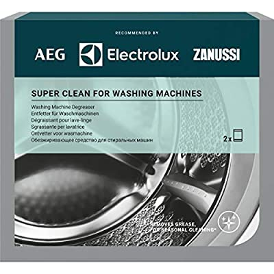 AEG M3GCP200 9029799310 Super Clean Deep Cleaner for Washing Machines Contains 2 sachets.