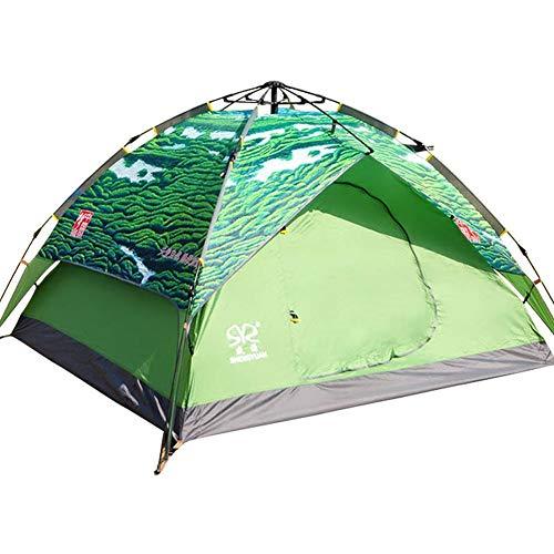 ZCY Outdoor Tents, Automatische Pop-Up Tenten voor tweeërlei gebruik, Vouwen Camping Tent Toerisme Beach Tent