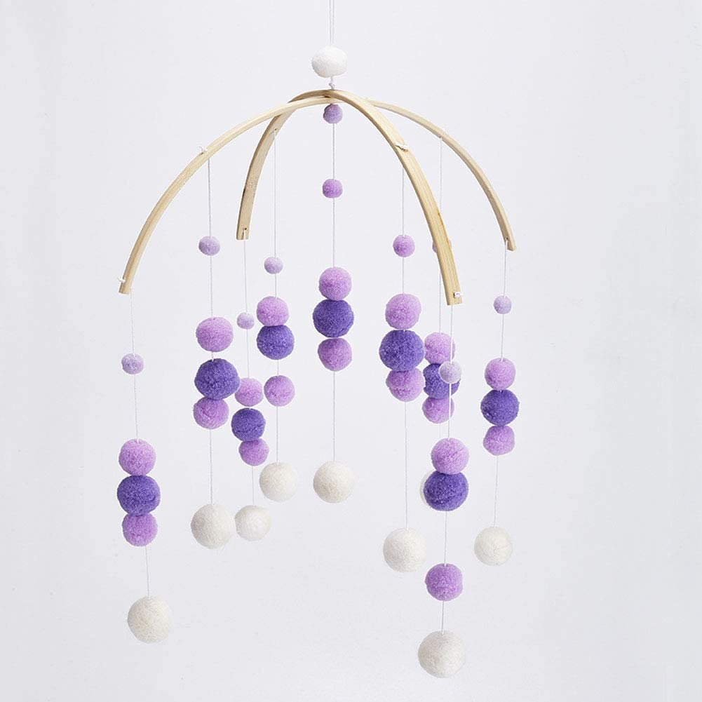 Baby Crib Max 69% OFF Mobile Max 78% OFF Felt Hanging Toys Pendant Ball