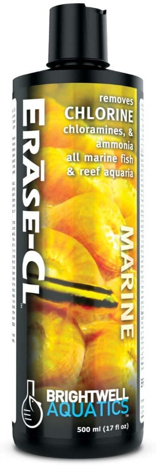 Directly managed store Brightwell Aquatics store Erase-Cl - Chloramines Chlorine Removes A