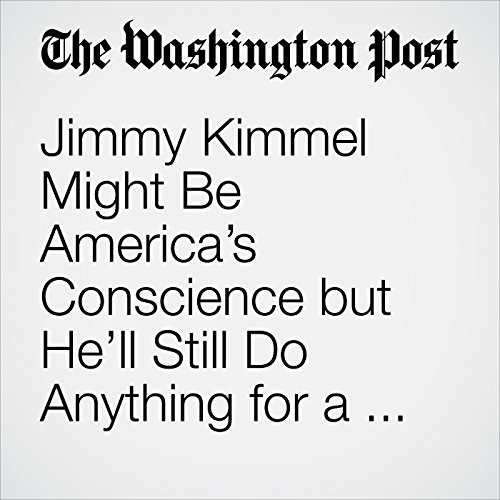 Jimmy Kimmel Might Be America's Conscience but He'll Still Do Anything for a Laugh copertina