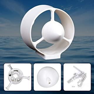 OUKANING Motor Thruster, Underwater Thruster Housing Shell Trolling Motors Systems Boat Motors for Rovmaker Motor Without Paddle Propeller, USA Stock