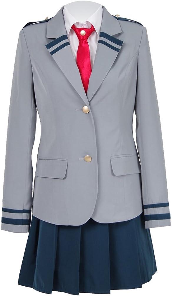 My Hero Excellent Academia Ochaco Uraraka School Costume Cosplay B Uniform Max 43% OFF