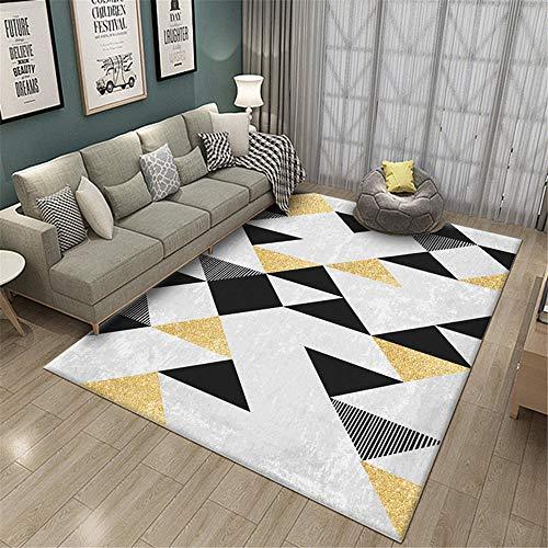 alfombra infantil niño alfombras para comedor Sala de estar alfombra gris rectangular decoración de dormitorio moderno protección del medio ambiente y a prueba de humedad salones 140X200CM 4ft 7.1'X6f