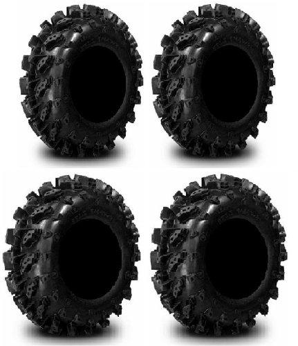 Full set of Interco Swamp Lite 27x9-14 and 27x11-14 ATV Tires (4)