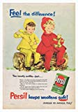 Persil Teddies Poster Bild Vintage Old Advert Artwork