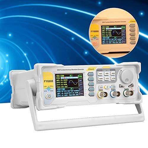 Signal Generator,FY6900-60M 60MHz Multi-Functional Digital Signal Generator Counter Frequency Meter(US Plug 110V)