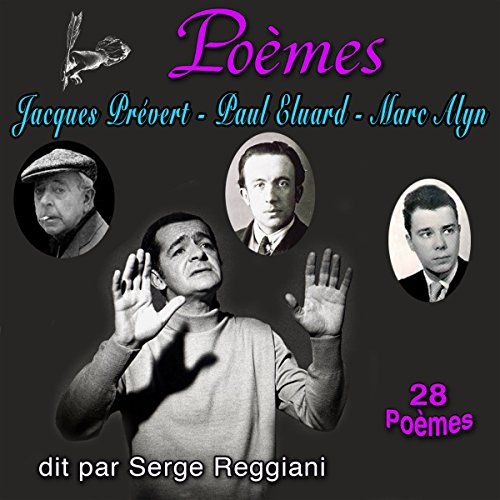 Couverture de Poèmes. Jacques Prévert, Paul Eluard, Marc Alyn - 28 Poèmes