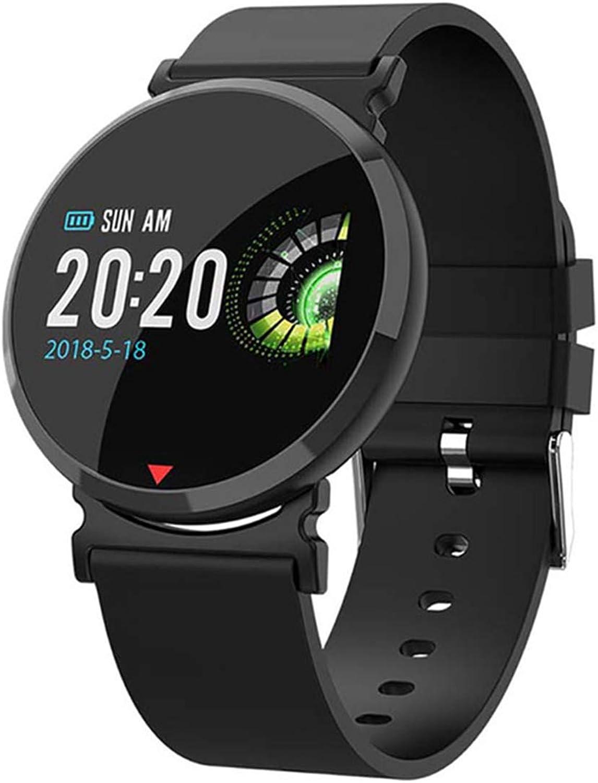 Fitness Smart Watch Mnner Frauen Gesundheit Schrittzhler Pulsmesser Sphrische Glas Blautooth Laufsportuhr Für IOS Android