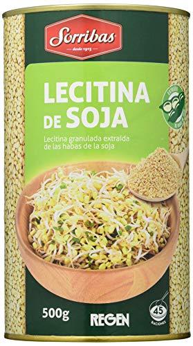 SORRIBAS LECITINA Soja GRANULADA 500 gr, No aplicable