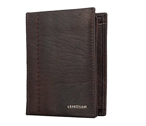 Strellson Walker Geldbörse Billfold V8 Dark Brown