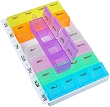INOVERA (LABEL) 7 Days Medicine Pill Storage Organizer Box Container