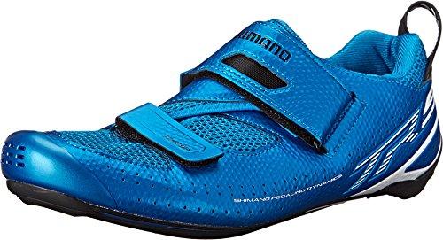 SHIMANO SH-TR9 Cycling Shoe - Men's Blue; 41.5