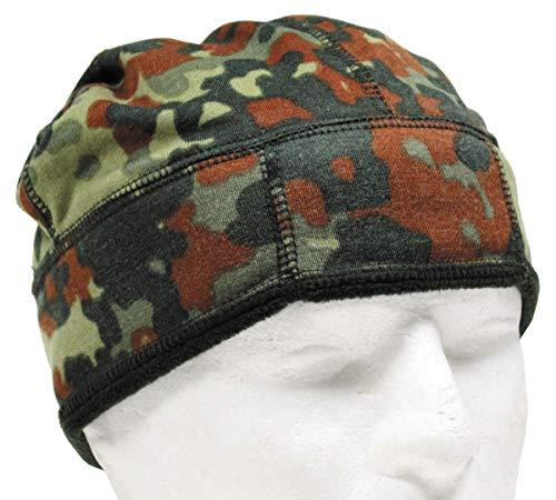 BW Bonnet en Polaire Motif Camouflage