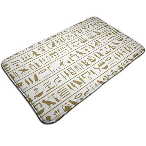 NA Alfombra egipcia con patrón sin Costuras, alfombras Antideslizantes, felpudos, Sala de...