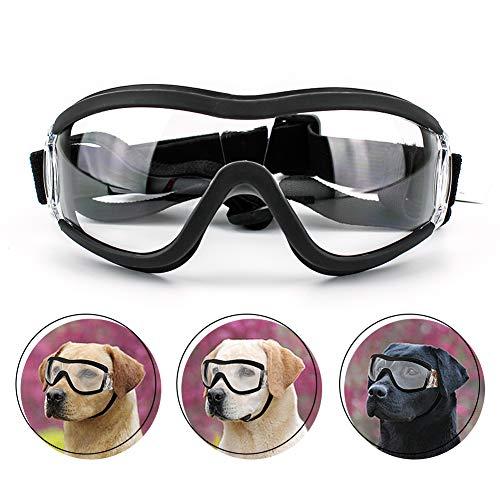 Namsan - Gafas de Sol para Perro con Estilo, Impermeables, Cortavientos, protección para los Ojos para Perros Grandes/medianos