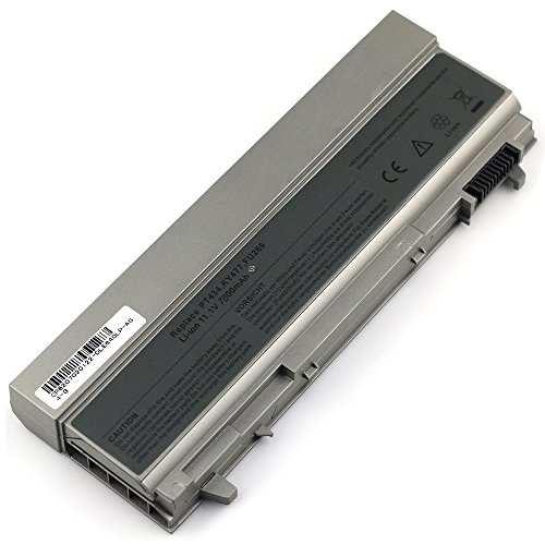 Bay Valley PartsNew Laptop Battery for DELL Latitude E6410 E6400 E6500 E6510 PT434 PT435 PT436 PT437 Li-ion 9 Cell 11.1v 7800mAh/86WH