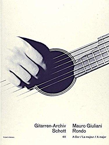 Rondo A-Dur: op. 17/1. Gitarre. (Gitarren-Archiv)